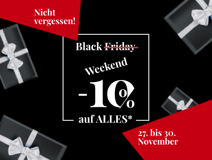 Black Weekend bei Hausmann