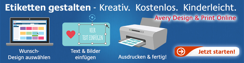 Avery Zweckform - Design & Print